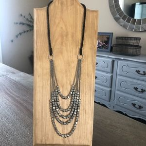 Noonday Collection Silver Nugget Necklace